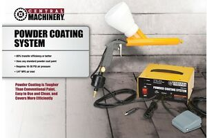 Complete 10 30 Psi 120 Volt Powder Coating System For Vehicles Home
