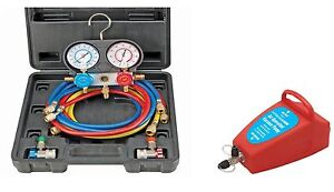 Brand New A c Manifold Gauge Set A c Air Vacuum Pump