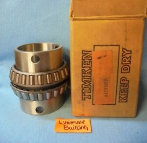 Timken Tapered Roller Bearing Double Cone 34293de 2 15 16 Bore