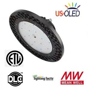 200w Led Dimmable High Bay Ufo Light lumileds Leds meanwell Driver 26214lm ip65