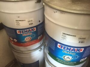 10 Gallon Ki Tenax Fixtop Strong Low voc Epoxy System new