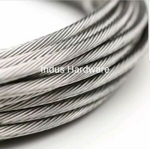 Stainless Steel T316l Cable Railing 1 8 1x19 7x19 Commercial Grade New Stock