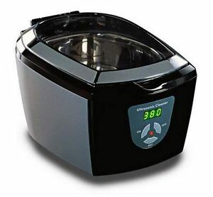 Jpl Ultrasonic 7000 Jewellery Spectacle Cd dvd Coins Care Cleaner Black