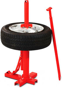 New Manual Portable Hand Tire Changer Bead Breaker Tool Mounting Home Shop Auto
