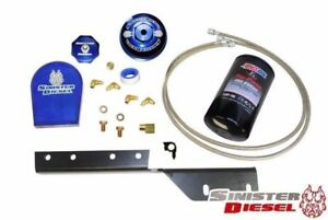 Sinister Diesel Bypass Oil Filter System For 03 07 Ford Powerstroke Diesel 6 0l