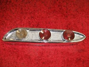 1959 Edsel Corsair Ranger Right Rear Taillight Tail Light With Lens Chrome