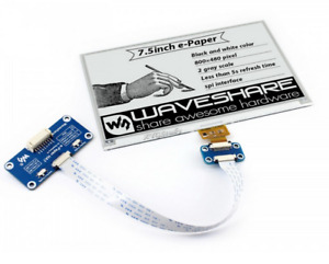 7 5 Inch E ink Display E paper Hat For Raspberry Pi 3 2 Zero W Spi Interface