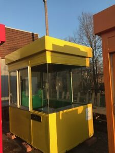 Cell Phone Store Building Outdoor Kiosk Self Standing Metal Building