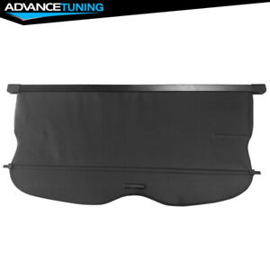 11 17 Jeep Grand Cherokee Black Tonneau Cover Rear Cargo Cover Urethane