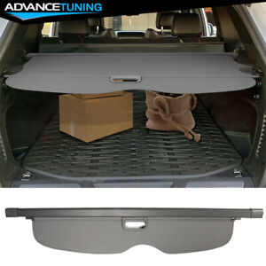 11 17 Jeep Grand Cherokee Grey Tonneau Cover Rear Cargo Cover Urethane