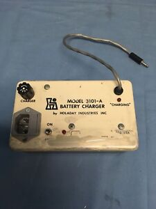 Holaday Model 3101 a Battery Charger For Holaday Hi 30001 Tested