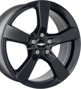 Chevrolet Camaro 20 Rear Black Factory Oem Wheel Rim 2010 2014 5446
