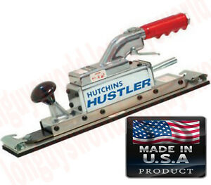 Pneumatic Inline Straight Line Air Sander Reciprocal Action Two Cylinder Sander