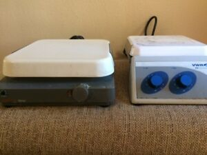 Corning Laboratory Stirrer model Pc 510 And Vwr 375 Hotplate stirrer
