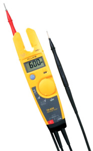 Electrical Voltage Continuity And Current Tester With Precise Digital Resolution