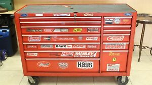 Snap on Kra5213 Tool Box 5213 13 drawer Rolling Cabinet Cart Red