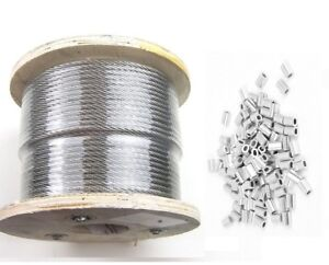 25 50 75 100 200 250 500 1000 1 32 T316 Stainless Steel Cable