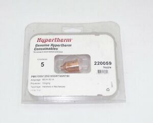 Hypertherm Genuine Powermax 1000 1250 1650 Gouging Nozzle 220059