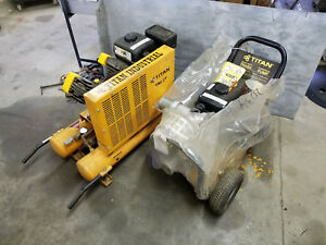 Industrial Heavy Duty Titan Commercial 3 Water Trash Pump Air Compressor
