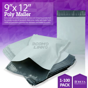 9 x12 Poly Mailer Shipping Mailing Packaging Envelope Self Sealing Bags Light