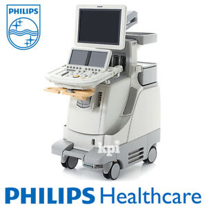 Philips Ie33 Ultrasound Xmatrix Machine Live 3d Cardiac Cardiology System