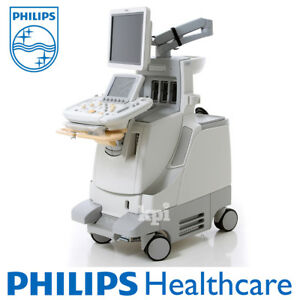 Philips Iu22 Ultrasound Machine 3d 4d System Shared Service With G cart