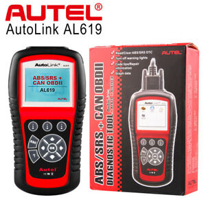 Autel Al619 Obd2 Auto Diagnostic Tool Can Car Code Reader Scanner Srs Abs Airbag