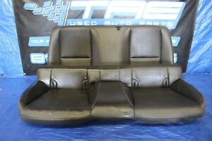 2012 Chevrolet Camaro Ss Oem Leather Rear Seats 6 2l Assy 1077 2