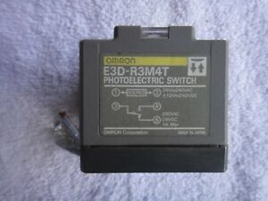 Omron Photoelectric Switch E3d r3m4t