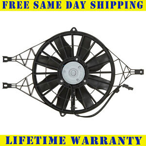 Radiator And Condenser Fan For Dodge Dakota Durango Ch3115119