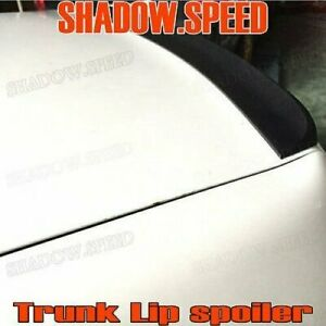Unpainted Sv Style Rear Trunk Lip Spoiler For Honda Civic 2001 05 Coupe