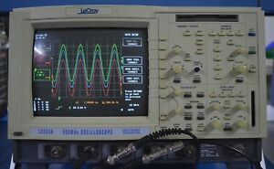 Lecroy 4 Channel 500mhz Color Oscilloscope Lc334a Nice