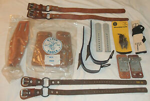 Klein Tools Pole Tree Climber Parts Accessories Lot