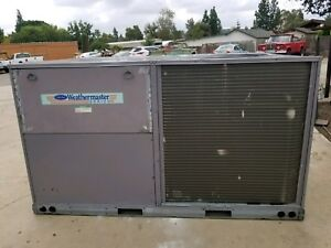 Carrier 7 5 Ton Heat Pump Package Unit High Efficiency 460 Volt 50hcqd08
