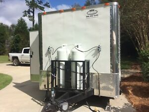 2015 8 1 2 X 16 Concession Trailer Food Truck Ready To Go