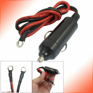 Replacement Connector 12v Car Push Button Cigarette Lighter Male Plug Universal