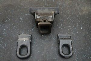 Set Front Trailer Hitch Receiver Tow Hook 15059237 Hummer H2 Suv Sut 2003 09