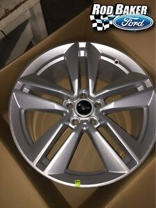 New Set Of 4 15 18 Mustang Ecoboost 19 X 9 Performance Pack Wheel Set No Core