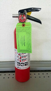 2 5lb Fire Extinguisher Abc Dry Chemical Rechargeable Kidde