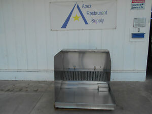 40 Halton Vent Hood For Food Truck Trailer 2570