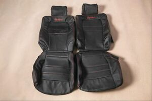 Custom Made Leather Seat Covers For 90 99 Mitsubishi 3000 Gt Stealth Rt Gto