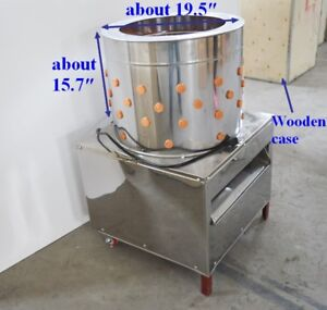 Turkey Chicken Plucker Plucking Machine Poultry De feather