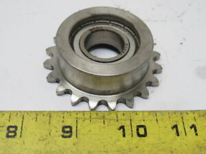 Stainless Steel Sprocket 20t 35 Chain 36mm Bore 20mm Bore Roller Bearing
