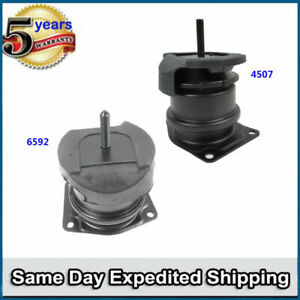 Front Rear Motor Mount 4507 6592 2pcs For 98 02 Honda Accord 3 0l M082