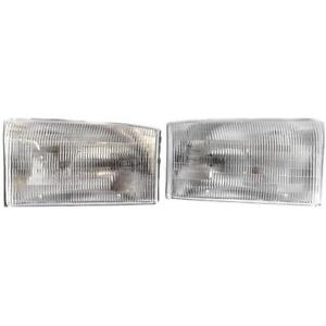 New Fo2502147 Fo2503147 Headlight Set For Ford Excursion 2000 2002