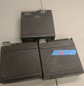 Lot Of 3 Motorola Astro Spectra Control Unit T99dx 177w M04ugf9pw5an
