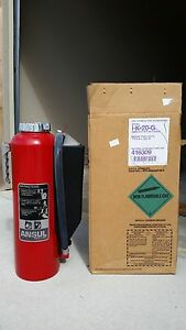 Ansul Red Line Fire Extinguisher Field Rechargeable 20lb Type Bc