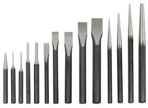 Atd 14pc Mechanics Punch And Chisel Set 714