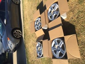 5 Spoke 17 Audi Rims set