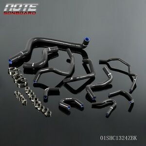 Fit For Honda Accord Cb7 F22a F20a 90 93 Silicone Radiator Amp Heater Hose Kit